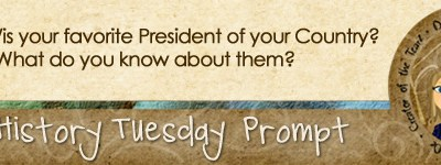 Journal prompt: Who is your favorite President of your country?