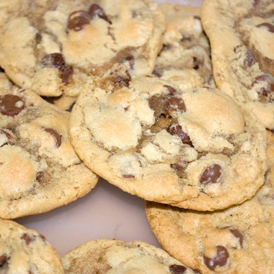 Thick & Chewy Chocolate Chip Cookies by DeDe Smith