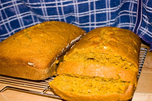 Pumpkin Zucchini Bread by DeDe Smith