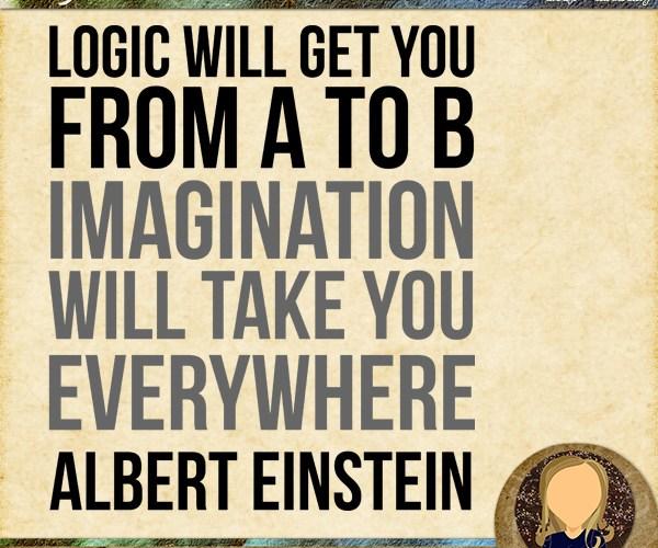 Wednesday WordZ | Logic vs Imagination