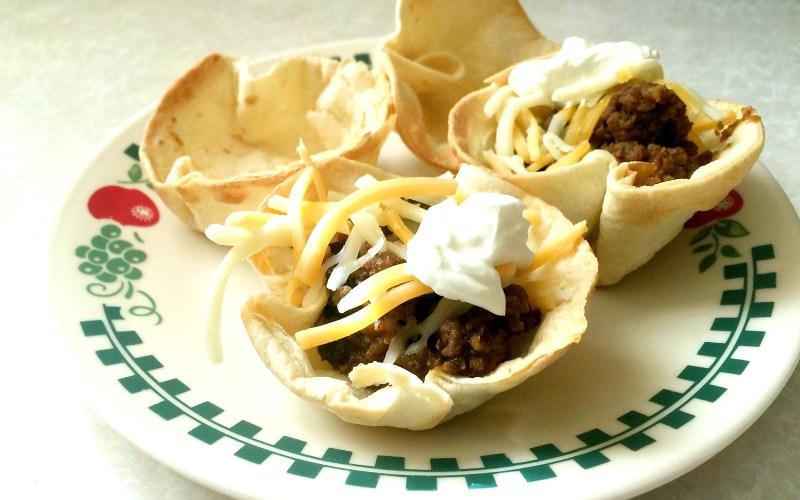 Recipe ThursdayZ | Mini Taco Bowls
