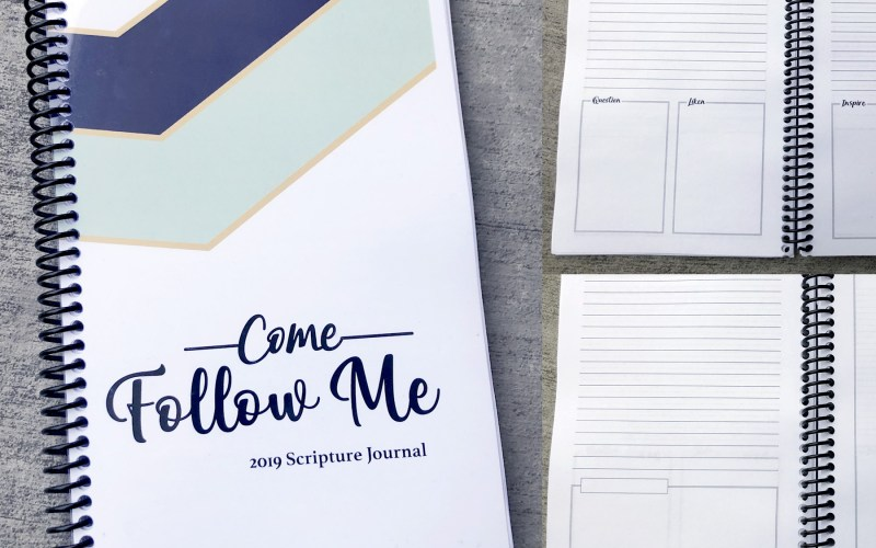 Come Follow Me 2019 | Scripture Journal