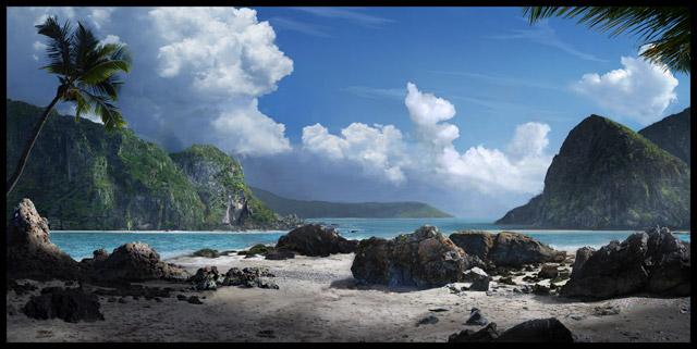 Super Realistic 3D Landscapes and Sceneries