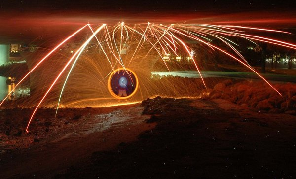 Dazzling Light Painting Photography and Tutorial