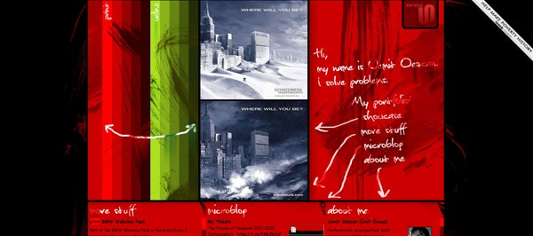 30 Sensual Red Web Designs