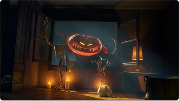 Haunted House 3d Wallpaper Sweet And Scary Halloween Themed Digital Art