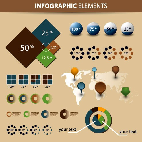 Free download of Economy vector design Infographics chart and design elements.