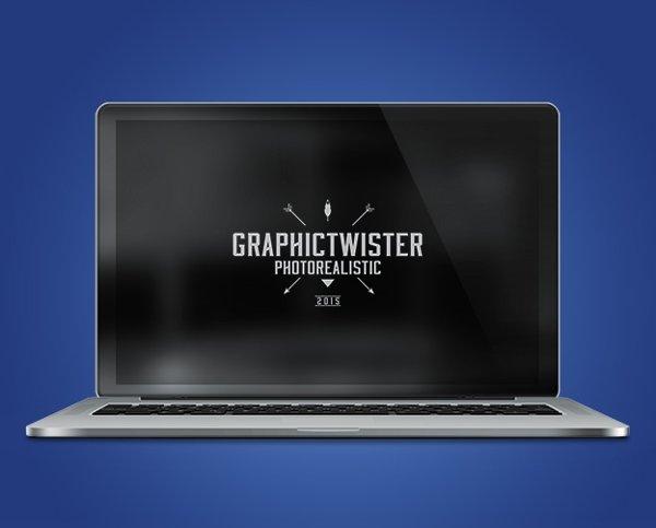 MacBook Pro Photorealistic Mockup