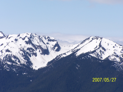 [ Hurricane Ridge, a view of the Olympic Mountains 2 ]