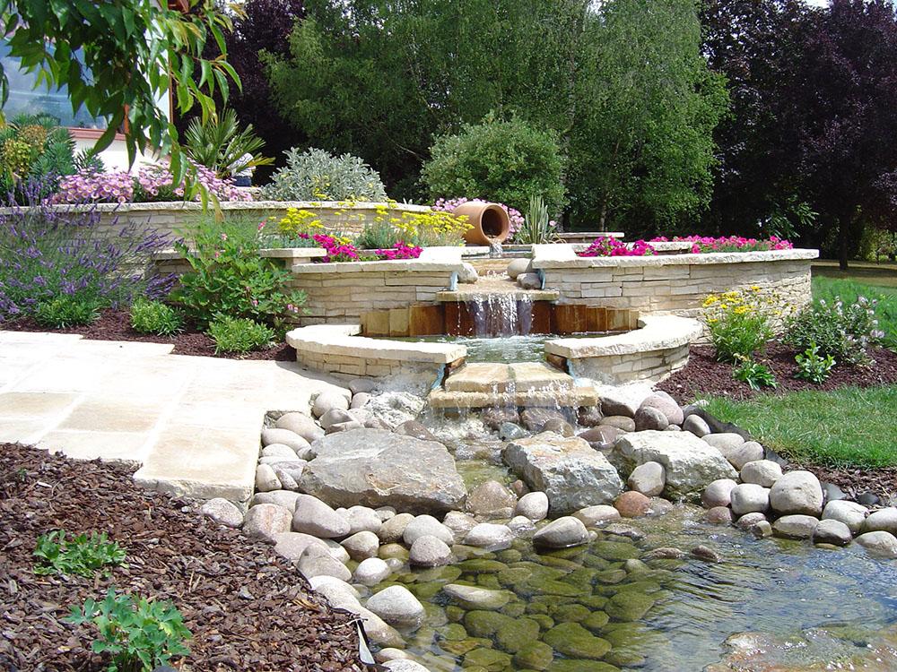 bassins et fontaines par desiles