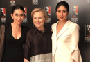 Sister's Kareena and Karishma together with the US secretary of State?