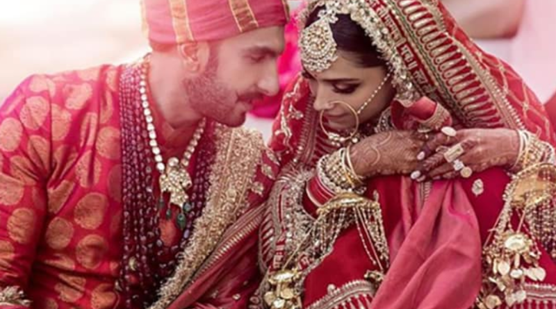 Deepika Padukone reveals striking outfit from wedding to Ranveer Singh
