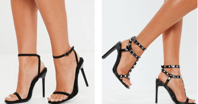 Black High heel's that make a statement!