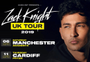 Zack Knight ready to kick start his UK tour in Manchester!