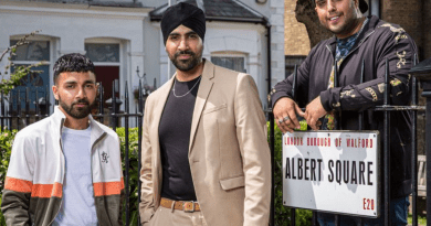 The Panesar's arrive to the square!