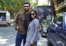 Parineeti Chopra & Arjun Kapoor step out for Sandeep Aur Pinky Faraar promotions