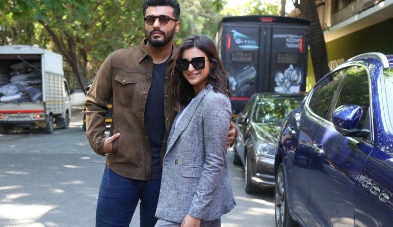 Parineeti Chopra & Arjun Kapoor step out for Sandeep Aur Pinky Faraar promotions