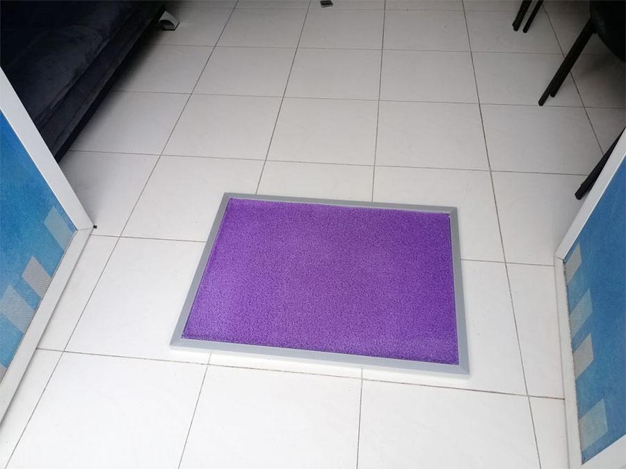 les tapis desinfectants pour chaussures