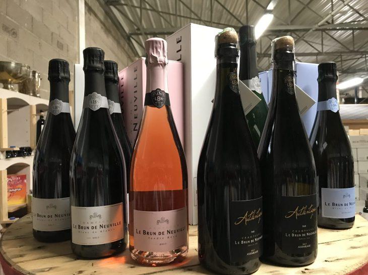 Vins - Le Brun de Neuville