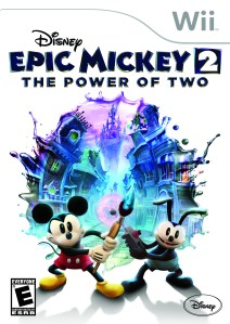 My Epic Adventure with Disney Interactive and Disney Epic Mickey 2: The Power of Two