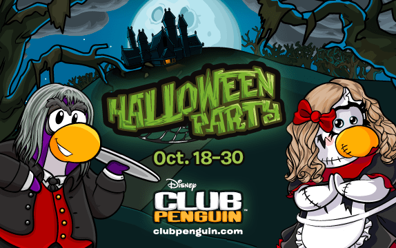 Waddle Your Way to the Club Penguin Halloween Party! - The Funny Mom