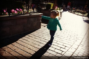 Her First Glimpse of Disneyland Magic – Wordless Wednesday