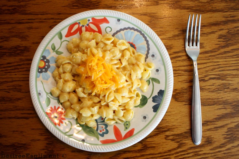homemade mac and cheese with shells noodles