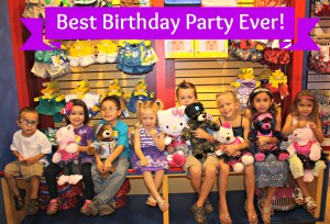 An Ultimate Birthday Cele-bear-ation At Build A Bear