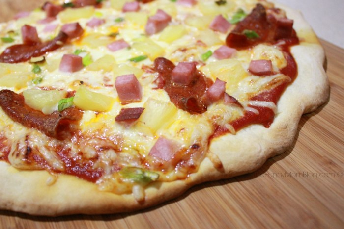 Hawaiian Pizza for two #shop #choosessmart