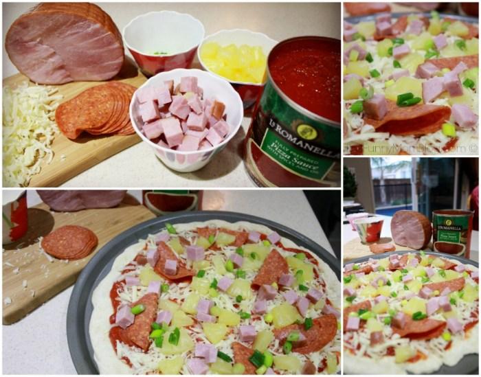 hawaiian pizza toppings #shop