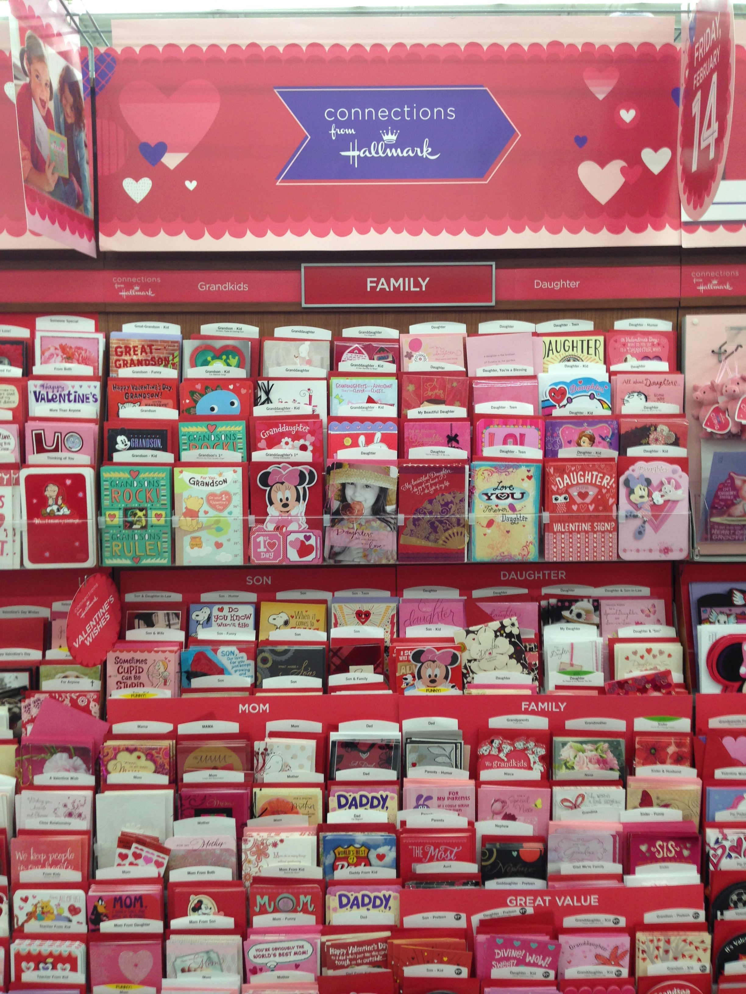 Sending Love and Smiles with Hallmark Valentines Day Cards The – Walmart Valentine Cards