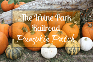 12th Annual Irvine Park Railroad Pumpkin Patch Giveaway