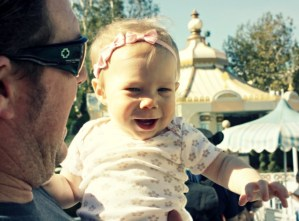 Baby's First Trip To Disneyland – Wordless Wednesday