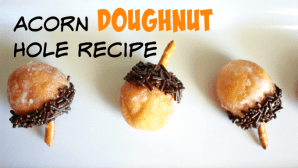 Acorn Doughnut Hole Recipe