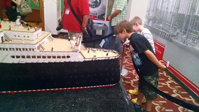 The Worlds Biggest LEGO Brick Model Ship Is At The Queen Mary - Biggest lego ship