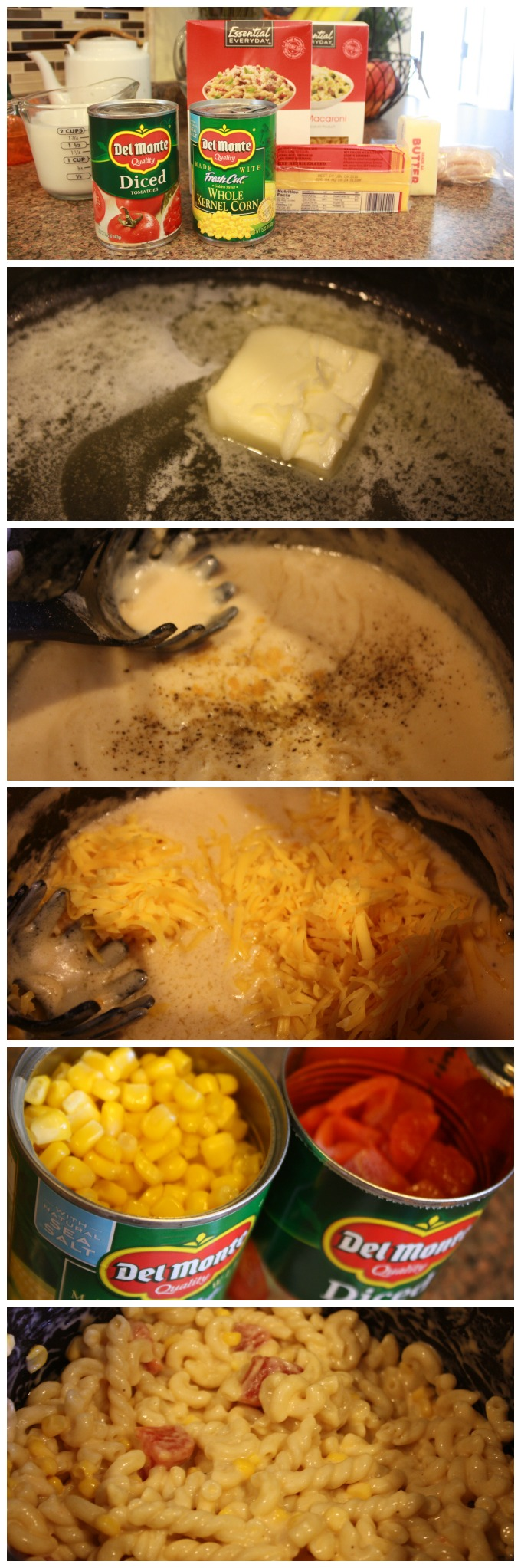 Step by Step BCT Macaroni and Cheese Recipe Directions - The Funny Mom Blog