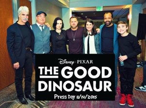 The Good Dinosaur Press Day in Hollywood #GoodDino