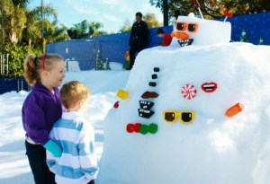 Snow in San Diego! Holiday Snow Days at Legoland California #HolidaySnowDays