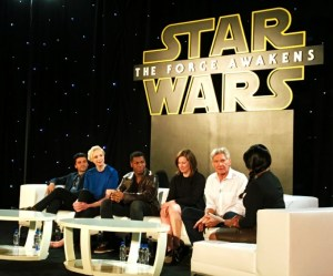 The Funny Mom's Take of the Star Wars The Force Awakens Global Press Conference