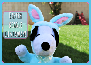 The Peanuts Gang Easter Giveaway!