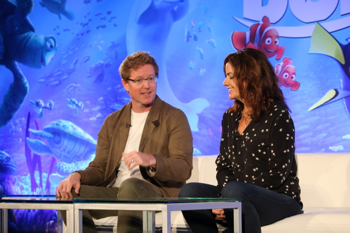 Director Andrew Stanton and Producer Lindsey Collins