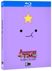 ADVENTURE TIME The Complete 6th Season on Blu-Ray