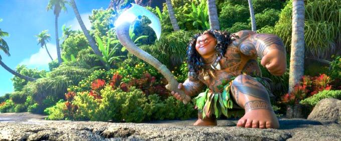 demigod Maui