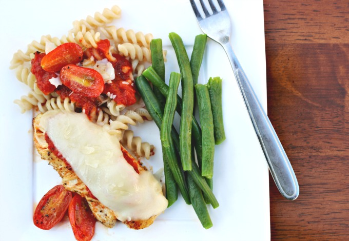 Quick Chicken Parmesan Recipe The Funny Mom Blog