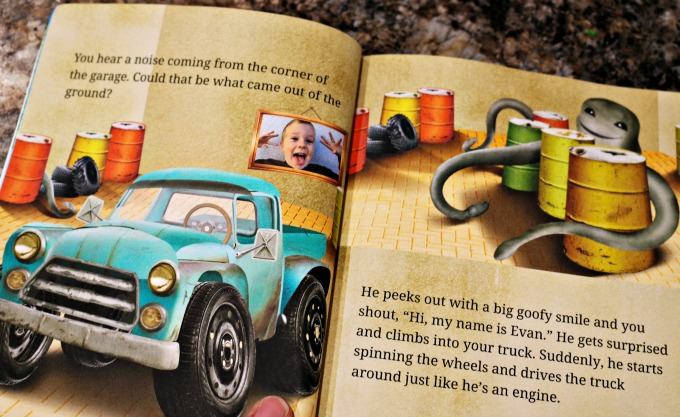 monster truck movie custom book