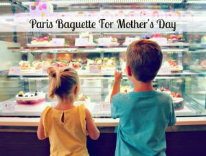 Paris Baguette Bakery For Mother's Day