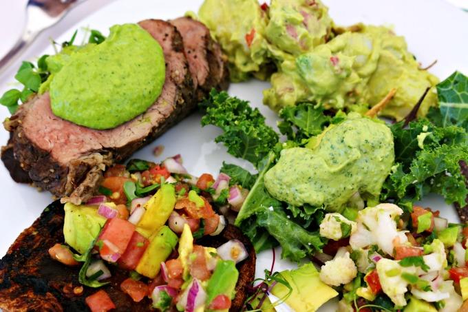 california avocado inspired meal