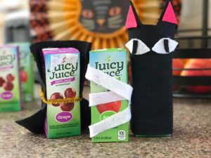 Juicy Juice Halloween Craft #JuicyJuiceCrew #FamilyTime