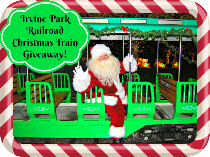 irvine park railroad christmas train giveaway - Irvine Christmas Train