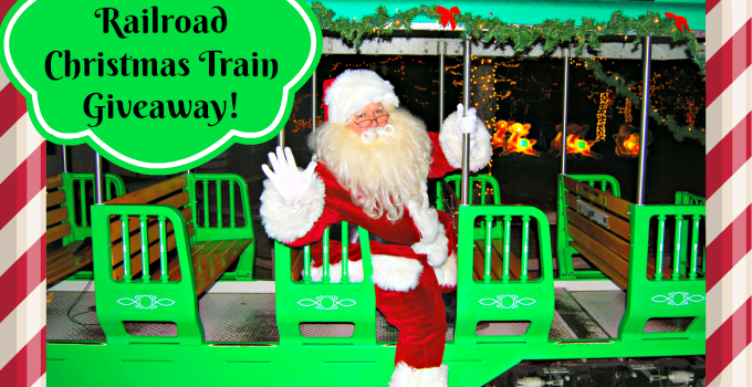 23rd Annual Irvine Park Railroad Christmas Train Giveaway!